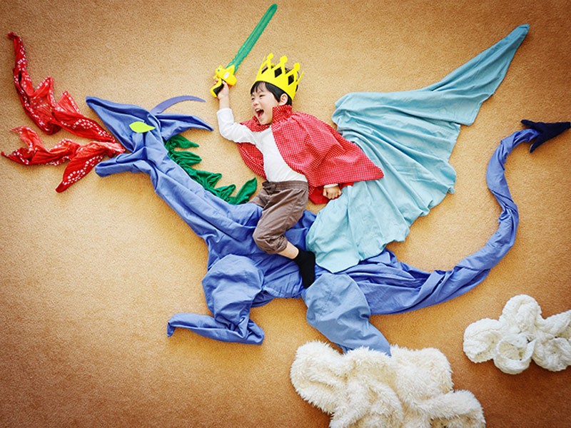 California Mom Turns Her Son's Nap and Playtimes Into Beautiful Works of Art: 'I'll Be so Glad I Have These Memories'  Real People Stories
