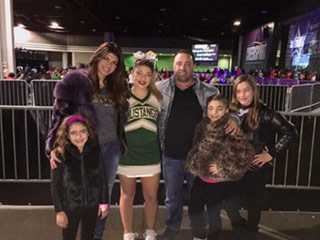 Teresa Giudice Attends Daughter Gia's Cheer Competition in Atlanta with the Entire Family