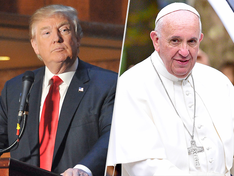 Donald Trump Calls Pope Francis 'Wonderful Guy,' Following Earlier Spat