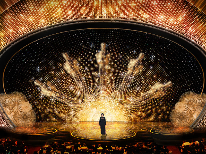 First Look at This Year's Oscars Stage Design: Vintage Hollywood Glam is Back!| Academy Awards, Oscars 2016, Movie News