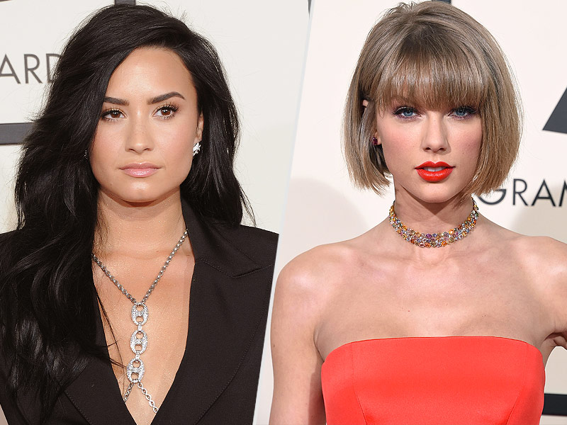 Is Demi Lovato Shading Taylor Swift Over $250,000 Donation to Kesha? 'Take Something to Capitol Hill or Actually Speak Out'| Scandals & Feuds, Sexual Abuse, Sexual Assault/Rape, Music News, Demi Lovato, Kesha, Taylor Swift