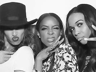 Beyoncé Reunites with Destiny's Child at Kelly Rowland's Birthday Bash – and the 'Independent Women' Jump Into the Photo Booth!