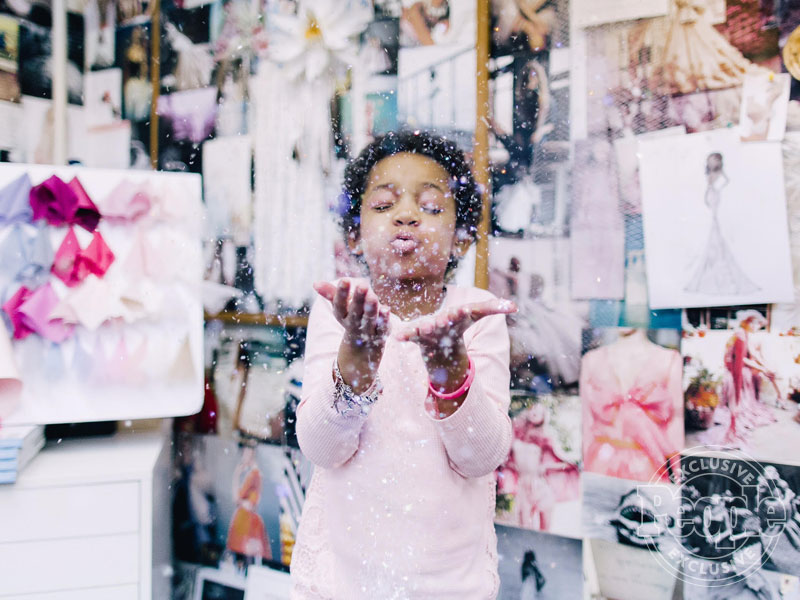 Leah Still Designs Her Own Flower Girl Dress for Her Father's Wedding after Beating Cancer: 'I Love My Dad'| Weddings, Cancer, Sports