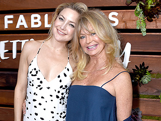 Goldie Hawn and Kurt Russell Step Out to Support Kate Hudson at Pretty Happy Book Launch