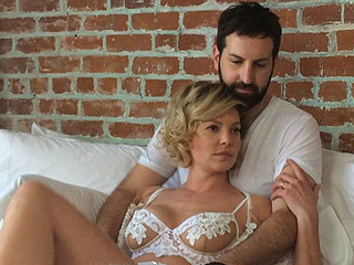 Katherine Heigl Teases New Project with Husband Josh Kelley Wearing Lingerie in Bed