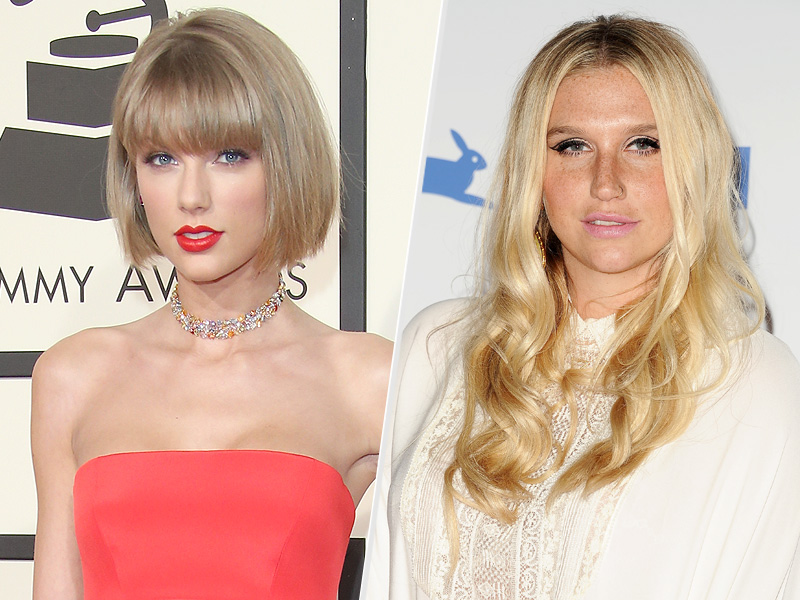 Taylor Swift Donates $250,000 to Kesha in 'Show of Support' After Judge Rules She Must Continue Working with Alleged Rapist Dr. Luke| Crime & Courts, Sexual Abuse, Sexual Assault/Rape, Kesha, Taylor Swift