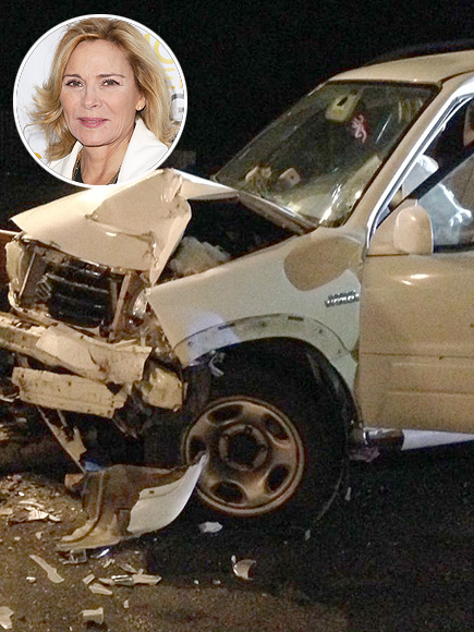 Kim Cattrall: Teen Driver Crashes Car Into 'Sex and the City' Star...