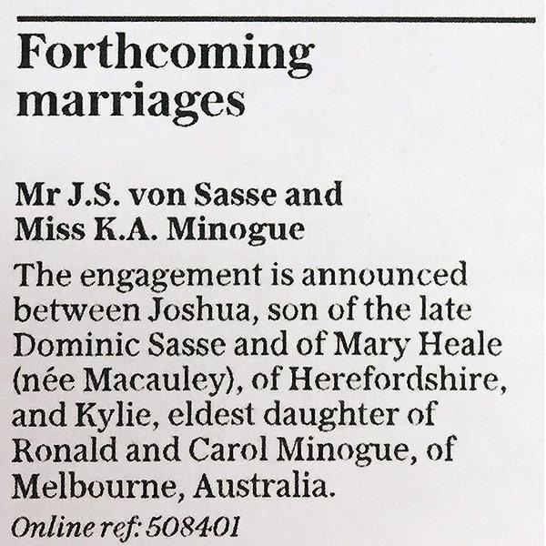 Kylie Minogue Engaged to Boyfriend Joshua Sasse – See Her Diamond Ring!| Engagements, Kylie Minogue