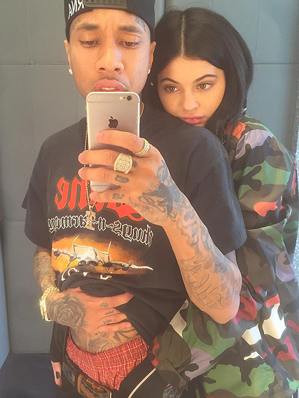 Kylie Jenner and Tyga Cozy Up in San Francisco Instagram