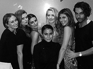 What Breakup? Lea Michele Hits the Town on Star-Studded Night Out