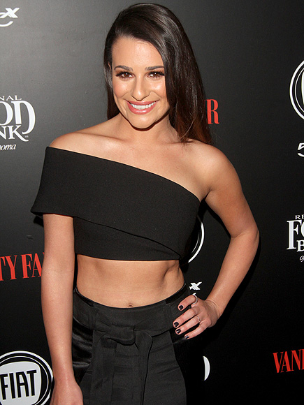 Newly Single Lea Michele Shows Some Skin on the Red Carpet Following Matthew Paetz Split| Breakups, Couples, Death, Lea Michele