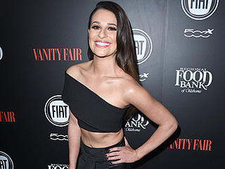 Newly Single Lea Michele Shows Some Skin on the Red Carpet Following Matthew Paetz Split
