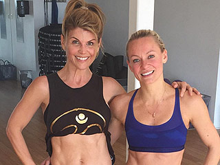How Fuller House Star Lori Loughlin Maintains Her Incredible Abs: 'I've Really Found My Ideal Workout'