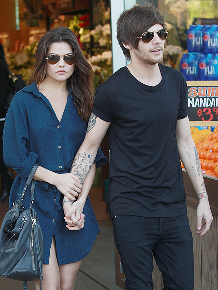 Louis Tomlinson and Girlfriend Danielle Campbell Get Wrapped Up in Each Other While Grocery Shopping| One Direction, Couples, The Originals, Louis Tomlinson