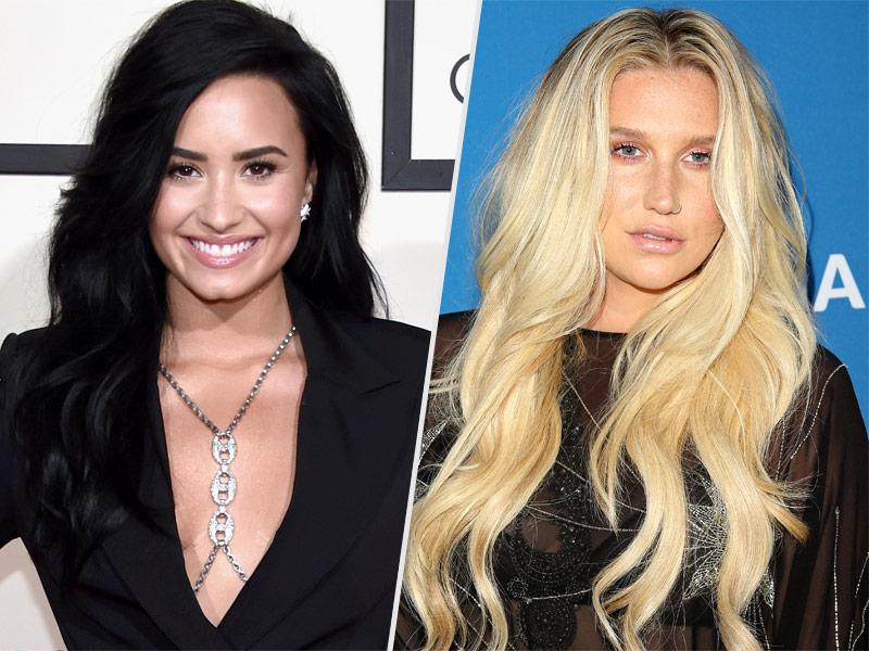 Demi Lovato Backtracks After Rumored Criticism of Taylor Swift for $250,000 Donation to Kesha Amid Dr. Luke Legal Battle  Music News, Demi Lovato, Kesha