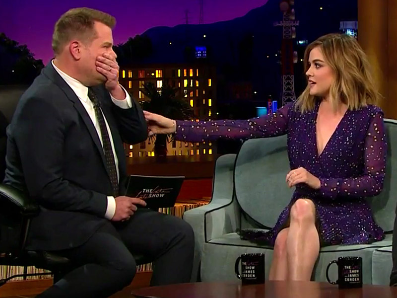 Superfan James Corden Really Doesn't Want Pretty Little Liars to End| Pretty Little Liars, The Late Late Show with James Corden, TV News, James Corden, Lucy Hale