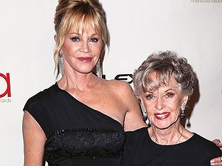 Like Mother, Like Daughter! Melanie Griffith Attends Hollywood Beauty Awards with Iconic Mom Tippi Hedren