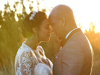 NE-YO and Crystal Renay Are Married! Go Inside Their Los Angeles Wedding