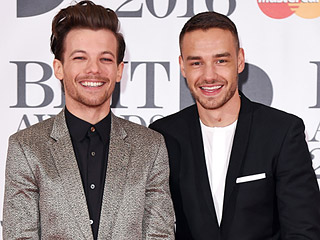 One Half of One Direction, Louis Tomlinson and Liam Payne, Reunite to Accept Brit Award: 'We Have the Best Fans in the World'