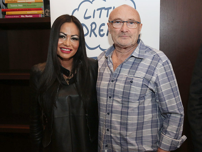 Phil Collins on Reconciling with Ex-wife Orianne Collins-Mejjati