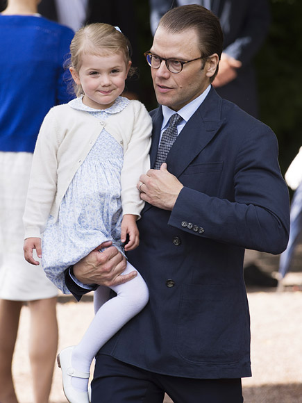 Prince Daniel's Says 3-Year-Old 'Princess Estelle Is Better on Skis Than Me'