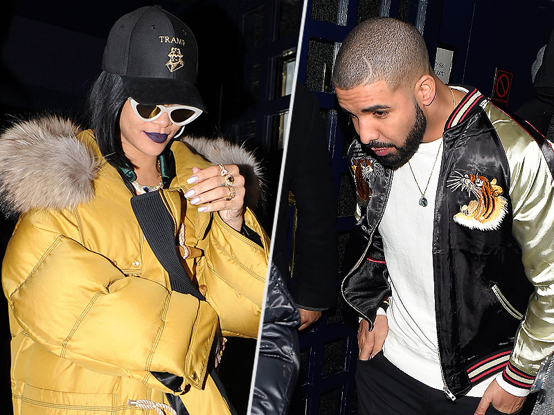 Taking Time Off 'Work?' Besties Rihanna and Drake Party Until 5:30 a.m. After Brit Awards| The Brits, Music News, Drake, Kendall Jenner, Rihanna