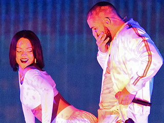 Rihanna Is Back! Singer Performs Sexy 'Work' with Drake at the Brit Awards
