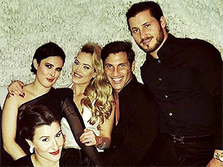 Maksim Chmerkovskiy and Peta Murgatroyd Celebrate Engagement with Dancing with the Stars Friends in N.Y.C.