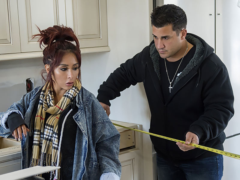 Nicole & Jionni's Shore Flip's Nicole 'Snooki' Polizzi Talks Flipping Houses with Husband Jionni LaValle: 'We Did Bicker a Lot'  Couples, Jersey Shore, People Picks, TV News, Jionni LaValle, Nicole Polizzi