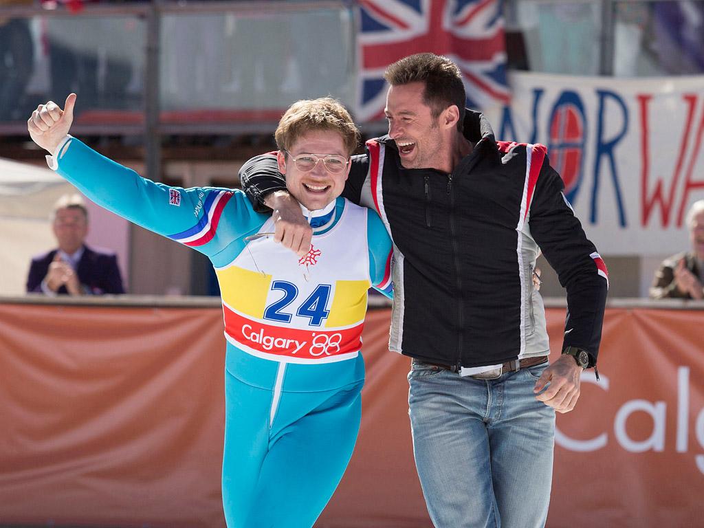 PEOPLE Review: Taron Egerton Soars Alongside Hugh Jackman in Eddie the Eagle| Olympics, Movie News, People Picks, Hugh Jackman