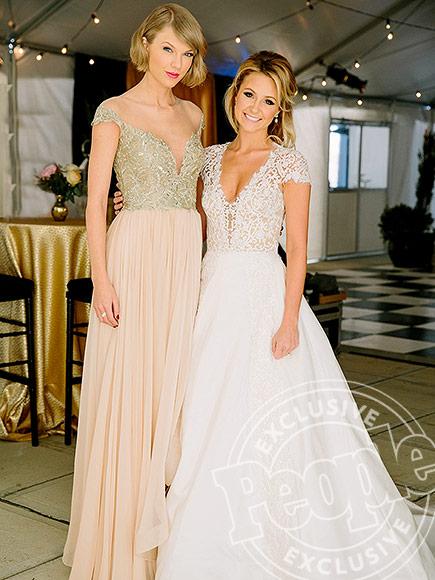 Taylor Swift Attends Best Friend's Wedding