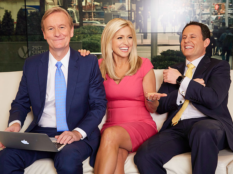 Make Room on the Curvy Couch! Ainsley Earhardt Debuts on Fox & Friends| Fox