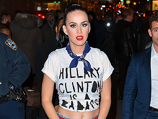 He's with Her! Orlando Bloom Supports Katy Perry at N.Y.C. Fundraiser for Hillary Clinton