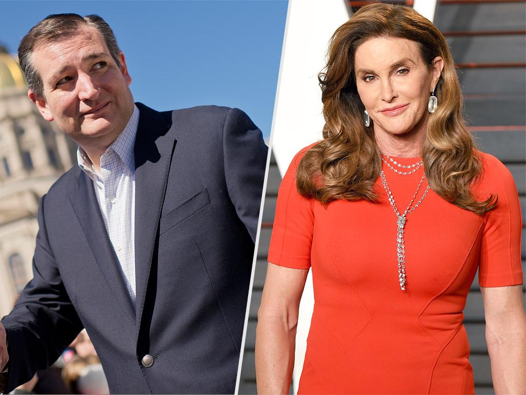 Caitlyn Jenner Says She Likes Ted Cruz for President