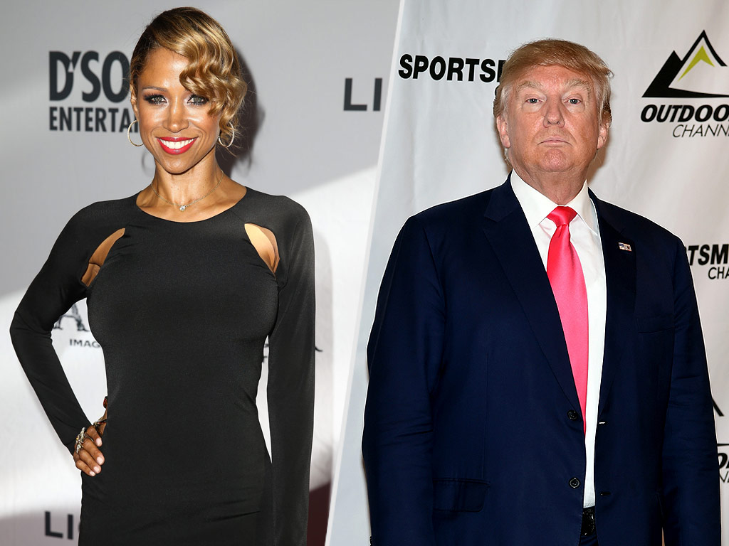 Stacey Dash Calls Donald Trump a 'True Conservative,' Backs His Approach to National Security| 2016 Presidential Elections, politics, Donald Trump, Stacey Dash
