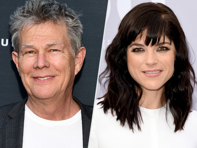 Caitlyn Jenner Joins David Foster and Selma Blair at Dinner
