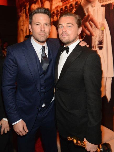 Inside Leonardo DiCaprio's Oscar Celebration at the Star-Studded Vanity Fair Party| Academy Awards, Oscars 2016, Leonardo DiCaprio