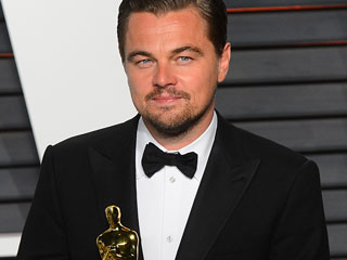 Leonardo DiCaprio Receives 'Wonderful Gift' of Homemade 'Oscar' from Russian Group, Just Like They Promised