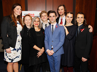 Elizabeth Taylor's Grandchildren Carry on Her Legacy at AIDSWatch Event in Washington