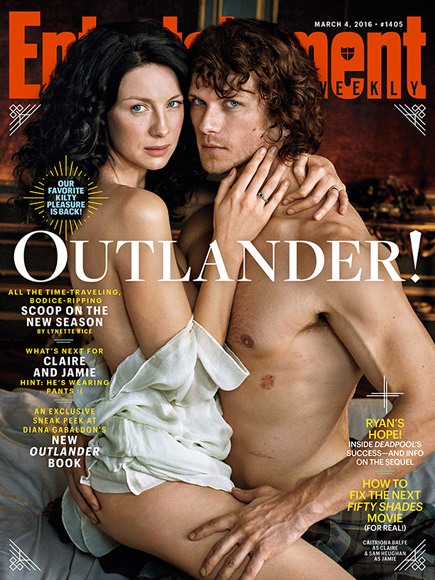 Outlander's Sam Heughan and Caitriona Balfe Address Those Dating Rumors in New EW Cover Story| Entertainment Weekly, Outlander, TV News