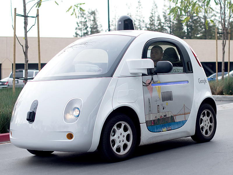 Google's Self-Driving Car Involved First Crash