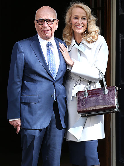 Jerry Hall and Rupert Murdoch's Wedding: Why a Civil Ceremony?