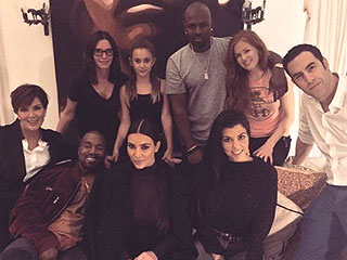 Star-Studded Movie Night! Sacha Baron Cohen Previews His New Film with the Kardashians, Kanye West and Courteney Cox