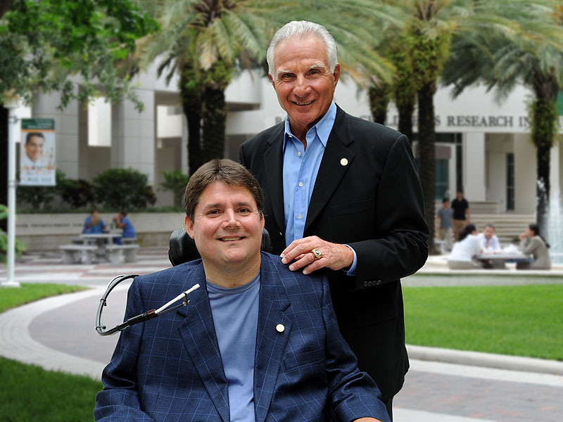 Paralyzed 30 Years Ago, Marc Buoniconti Turns Tragedy Into Purpose