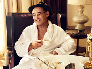 Exclusive Photo: See How Mark Rylance Celebrated His Oscar Win the Morning After