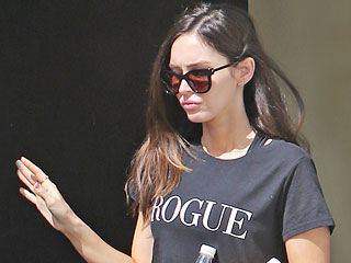 Amicable Exes Megan Fox and Brian Austin Green Step Out Together in Los Angeles