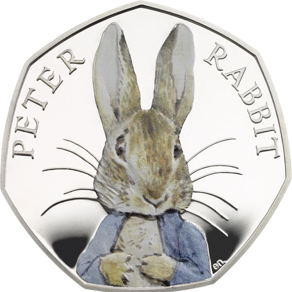Is This the Cutest Currency Ever? Royal Mint Unveils Peter Rabbit Coin – in Color!| The British Royals, The Royals