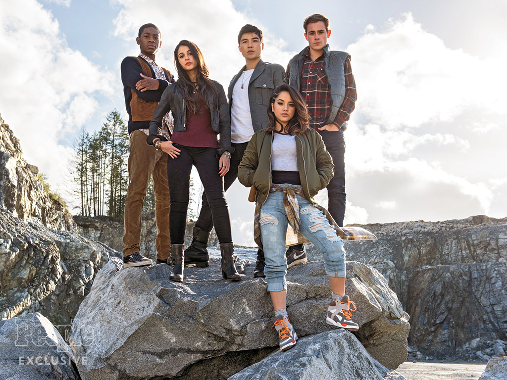 Power Rangers Movie: First Look at Cast of Big-Screen Reboot