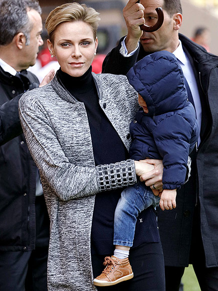 He's Got Game! 14-Month-Old Prince Jacques of Monaco Joins Mom Charlene for a Surprise Appearance at Rugby Tournament| The Royals, Charlene Wittstock