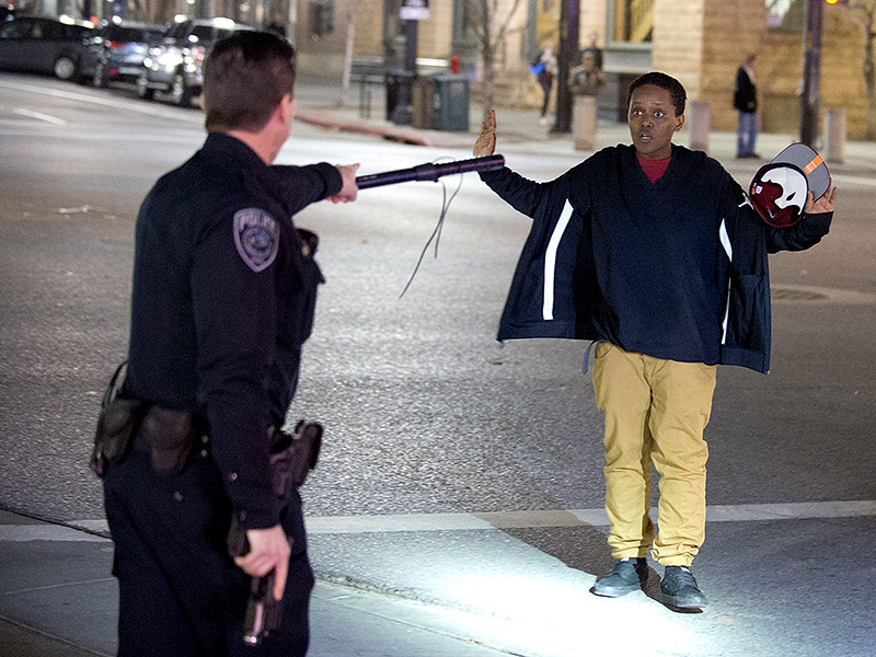 Nearly 100 Police Respond to Salt Lake City Protests After Officer-Involved Shooting| Crime & Courts, Shootings, True Crime